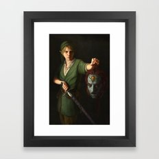 Hero of Time Framed Art Print