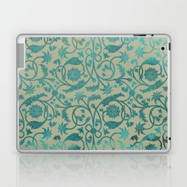 Blue Lotus Pattern Laptop & iPad Skin