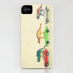 Dinosaurs Ride Cars iPhone (4, 4s) Slim Case