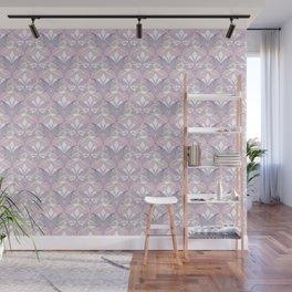 Interwoven XX - Orchid Wall Mural