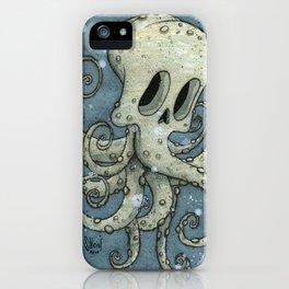 Nasty octopus iPhone Case