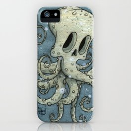 Nasty octopus iPhone Case
