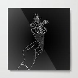 Moms bouquet Metal Print
