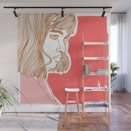 Side Babe Wall Mural