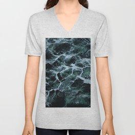 Waves Marble (Color) Unisex V-Neck