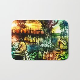 Growing up on the Bayou Bath Mat