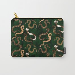 Plenty of Pythons (Jungle) - Emerald Carry-All Pouch