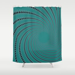 Zoned Out - Fractal Art Shower Curtain