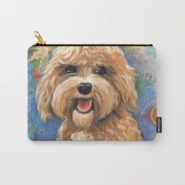 Golden Doodle by Robynne Carry-All Pouch