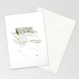 king of the allotments Stationery Cards