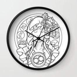 Zodiac Series | Cancer Wall Clock