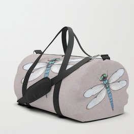 Blue dragonfly Duffle Bag