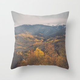 Colorado in the Fall Throw Pillow