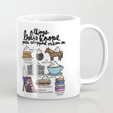 Things Leslie Knope puts Whipped Cream on Mug