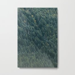 Trees on Tress Metal Print