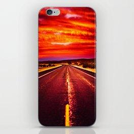 Desert Sunrise, Big Bend, Texas iPhone Skin