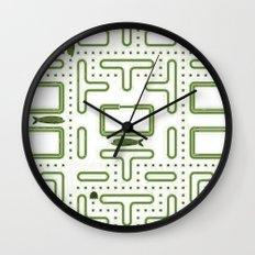 Pac-Fish II Wall Clock