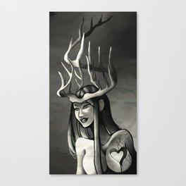 Antler Crown Canvas Print