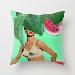 Nice Melons Throw Pillow