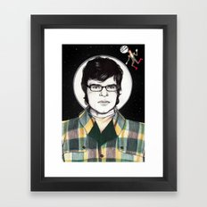 Flight of the Conchords: JEMAINE CLEMENT IN SPACE! Framed Art Print