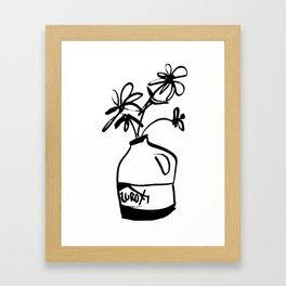 Bleach Bloom Framed Art Print