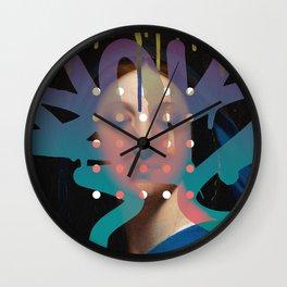 Defacement Wall Clock