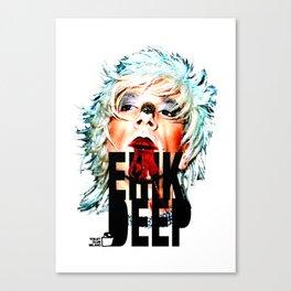 TOILET CLUB #erikdeep Canvas Print