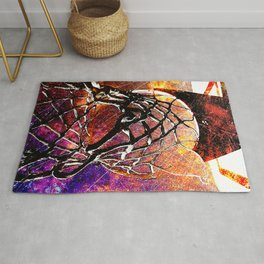 Basketball art print stars s2 Rug