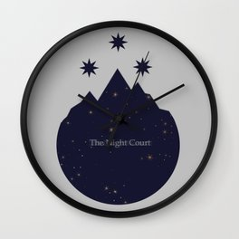 The Night Court Wall Clock