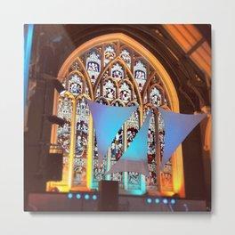 Church Windows Metal Print