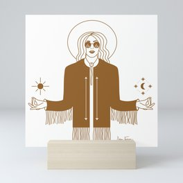 Queen of the Cosmos Mini Art Print