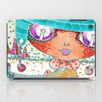 murakami iPad Cases featuring Blythe Doll from Dimension 6 by LeLu'sToYmaker