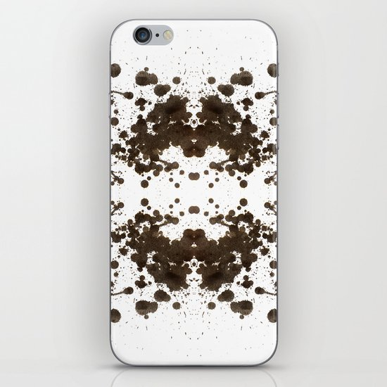 Symmetria Silver iPhone & iPod Skin