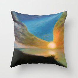 WINGS OF AN ANGEL Throw Pillow