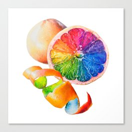 Grainbow Fruit Canvas Print