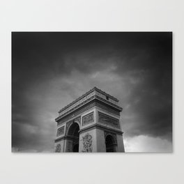 l'arc de triomphe Canvas Print