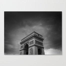 l'arc de triomphe Canvas Print