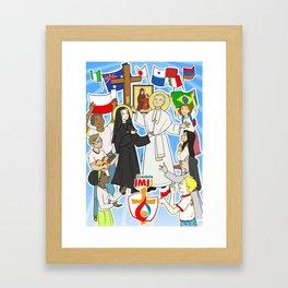 WYD Krakow 2016 Framed Art Print