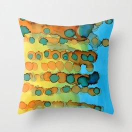 Continually Evolving Throw Pillow