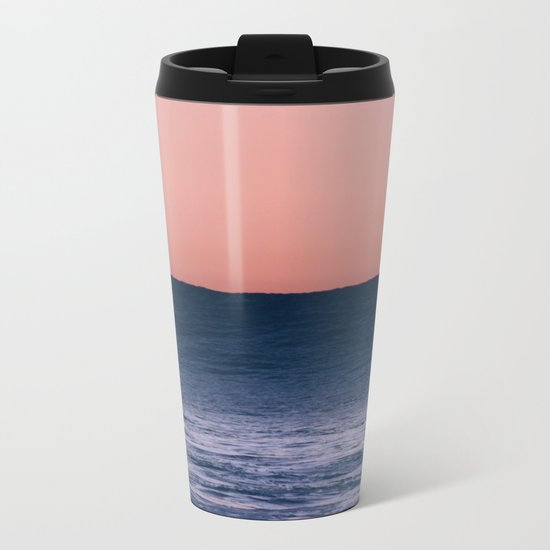 Dark Wave Metal Travel Mug