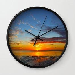 Summer sunrise Wall Clock