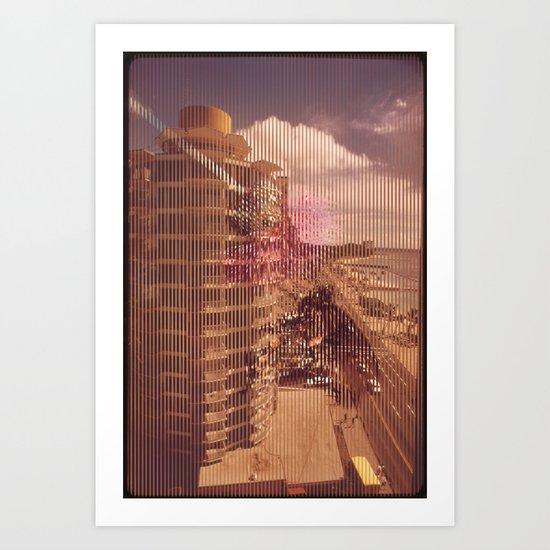 Lenticular 3 Art Print
