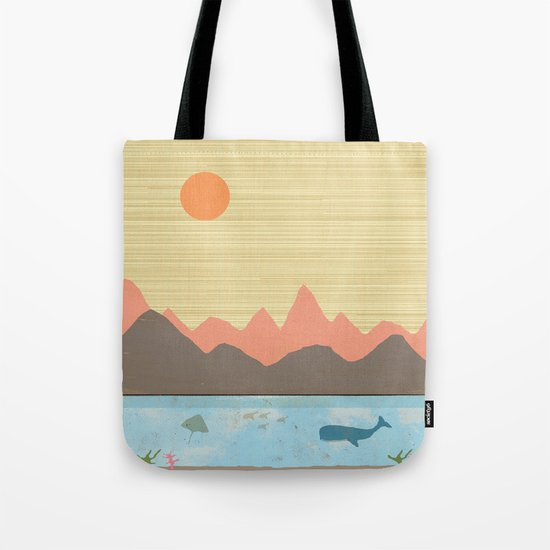 A  Beautiful View Tote Bag