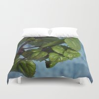 swedish Duvet Covers featuring Swedish ivy by Camaracraft