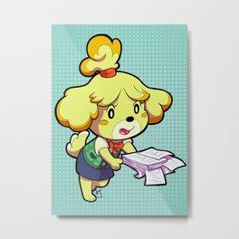 Isabelle Print Metal Print