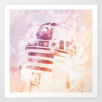 r2d2 Art Prints featuring R2D2 by eARTh