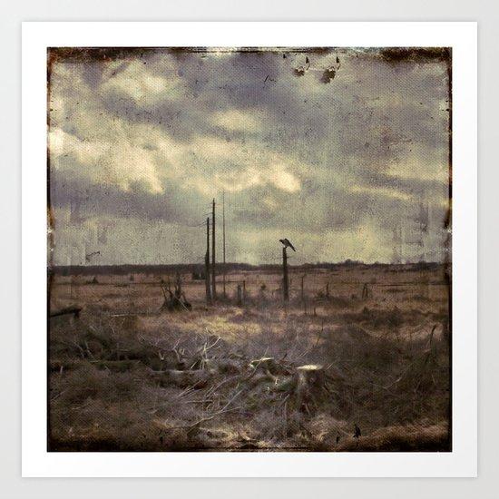 barren lAnd Art Print