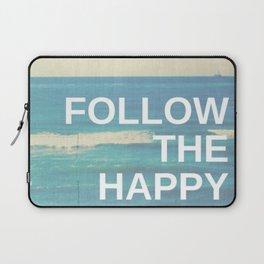 Follow the Happy Laptop Sleeve