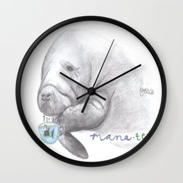 Mana-Tea Wall Clock