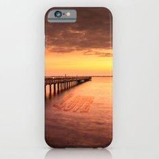 Sunset/Sundusk over harvor. iPhone 6s Slim Case